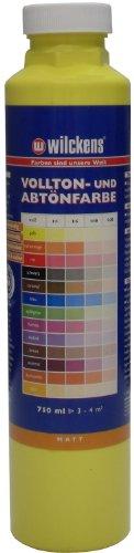 Wilckens Vollton- & Abtönfarbe Gelb 750 ml