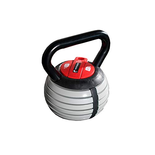 Titan Fitness Kettlebell Weight Lifting Equipment, Adjustable for Your Own Personal Workouts