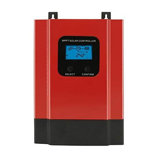 ZBF MPPT 60A 40A Controlador de Carga Solar 12V 24V 36V 48V Auto MAX 150 V PV INTENCIÓN PVING Light LCD RS485 WiFi Control de Aplicaciones móviles (Color : MPPT, Current : 40A)