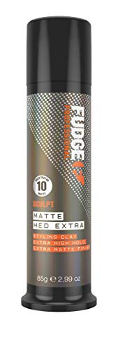 Fudge Professional Hair Wax, Matte Hed Extra, Extreme Hold, Texturising Hair Styling Product for Men, Matt Effect Texture Clay, Infused With Kaolin Clay, 85 g