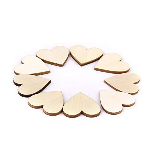 9,10cm Confetti Decorativi Fai da Te 3,4 Foro Legno Cuori 7,8 1,2 5,6
