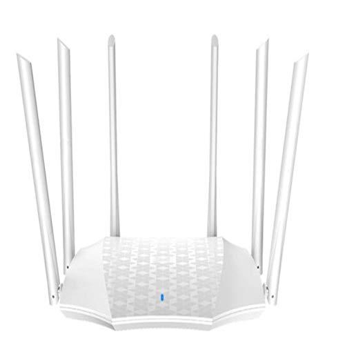 XinC Enrutador Wi-Fi Inteligente, enrutador inalámbrico de Banda Dual, Velocidad inalámbrica AC 2100 de hasta 2033 Mbps, Sistema de Malla de Doble Banda, Wi-Fi invitado, para el hogar y la Oficina.