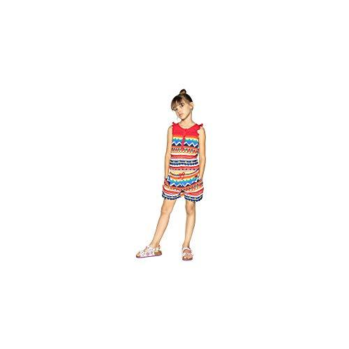 Desigual Osezno 18sgpw09 - Pantalón corto para mujer, color rojo