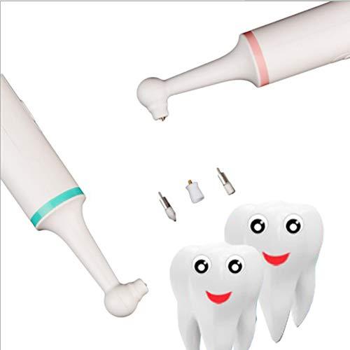 Hogar removedor de pulidor de dientes eléctrico tartar removedor Tártaro para pulido de diente Tártaro,Pink