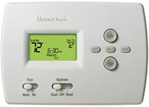 Honeywell TH4110D1007 PRO 4000 5+2 Day Programmable Thermostat, 1H/1C, Dual Powe