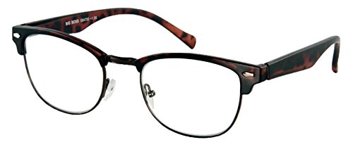 Lesebrille Big Boss-Havanna-Matt-Sph:+3,00