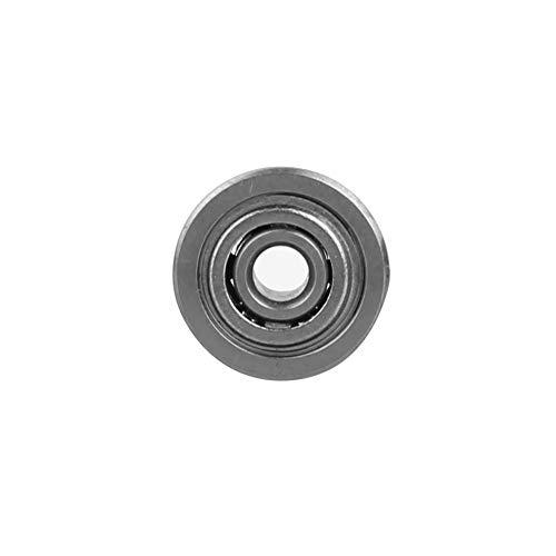 Rodamientos con bridas de 10 piezas, rodamiento en miniatura, rodamientos de bolas de acero de alta calidad, durabilidad y larga vida útil(F694ZZ)