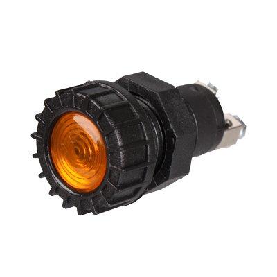 Kontrolleuchte, Kontrolllampe, Warnlampe 12V orange