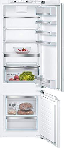 Bosch KIS87ADD0 Serie 6 Einbau-Kühlschrank mit Gefrierfach / A+++ / 177,5 cm Nischenhöhe / 149 kWh/Jahr / 208 L Kühlteil / 61 L Gefrierteil / VitaFresh plus / LowFrost