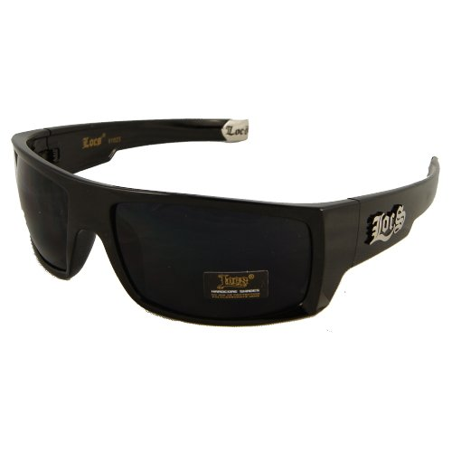 locs Sonnenbrille Hardcore Shades Lo8Loc91025 - Schwarz 1