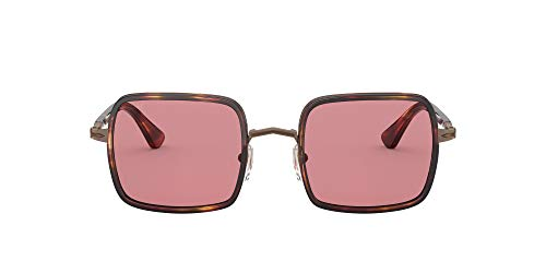 Gafas de Sol Persol PO 2475S Striped Burgundy Brown/Violet 50/21/140 unisex