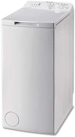 Lave linge Top Indesit BTWNA61052FR - Lave linge - Pose libre - capacité : 6 Kg - Vitesse d'essorage maxi 1000 tr/min...