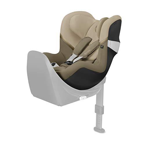 CYBEX Gold Kinder-Autositz Sirona M2 i-Size, Für Kinder ab 45 cm bis 105 cm (max. 19kg), Ohne Base M, Classic Beige