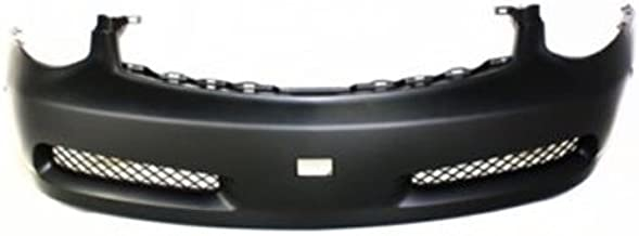 CPP Primed Front Bumper Cover Replacement for 2003-2007 Infiniti G35 Coupe