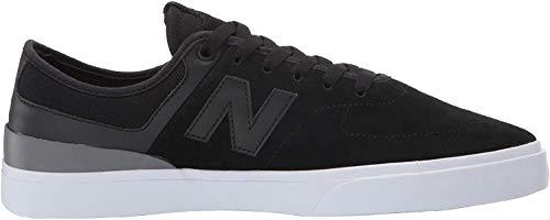 New Balance Numeric 379 Suede Logo Skate Zapatos para hombre, negro (Negro), 38.5 EU