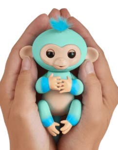 HomeZone Two Tone Fingerlings Small Monkey Toy Kids Toy Unisex Childrens Play Monkey For Ages 6 Stocking Filler Girls Boys