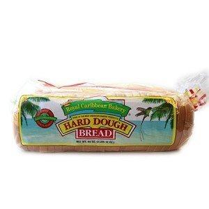 Jamaican Hard Dough Bread, (Large 44 Oz. 2 Packs)