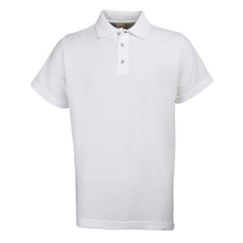 RTY Workwear RTY Workwear Herren Polo-Shirt S bis 10XL (Xlarge) (Weiß)