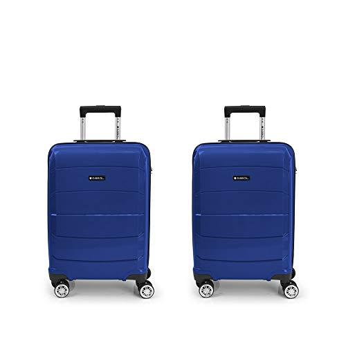 GABOL Juego 2 Maletas C, Adultos Unisex, Azul (Azul), Talla Única