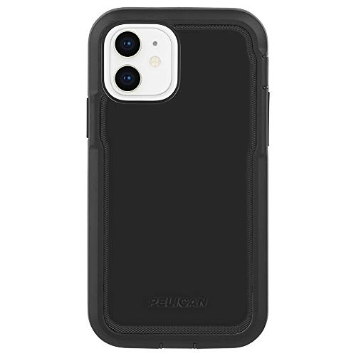 Pelican - Marine Active Series - Case for iPhone 12 Mini (5G) - 18 ft Drop Protection - Lanyard Strap - 5.4 Inch - Black