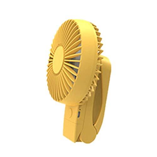 Bhu - Mini ventilatore portatile portatile portatile con clip di ricarica USB, per esterni, 3 in 1, 14,8 x 10,5 x 6,5 cm