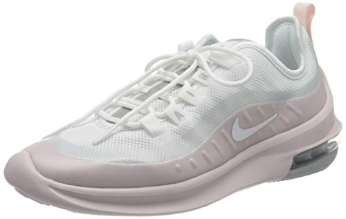 Nike Damen Air Max Axis Sneaker, Mehrfarbig (White/White-Barely Rose-Metallic Platinum), 40.5 EU