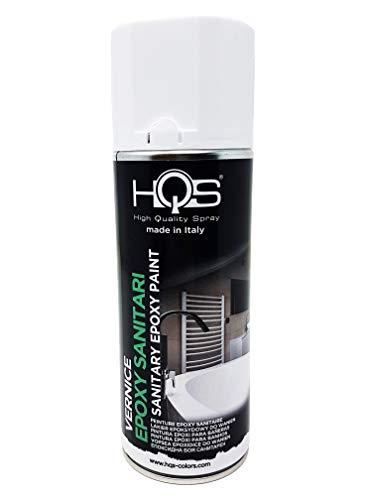 Quattroerre Vernice Spray HQS Bianco per Sanitari 400 ml