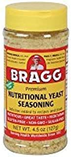 Bragg Nutritional Yeast Seasoning, Premium, 4.5 Ounce (2 Bottles) Thank you to all the patrons We hope that he has gained the trust from you again the next time the service