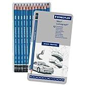 ステッドラー 鉛筆 ルモグラフ 高級 100G12 12硬度セット