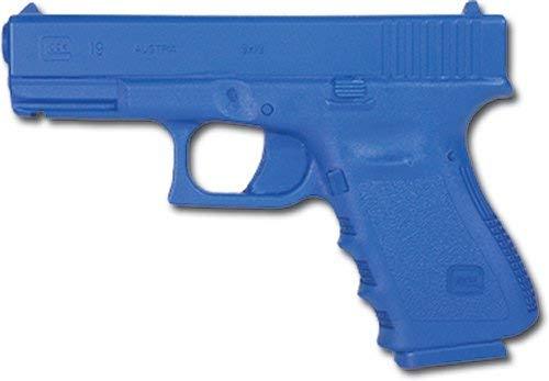 BlueGuns Training Replica Handgun, Non Weighted, Blue, Compatible with Glock 19 23 32