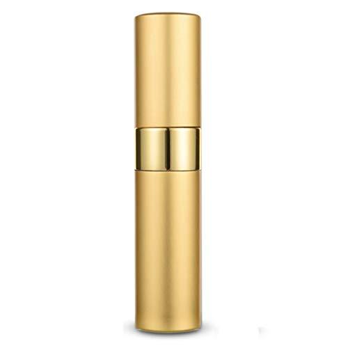 OUBOT Verre Bouteille Spray Parfum Bouteille Voyage Portable séparée Presse Type de Arrosoir pour Le Nettoyage (Color : Gold)