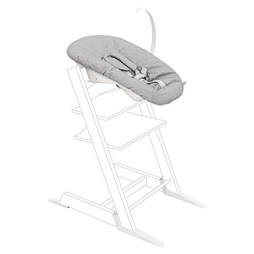 Tripp Trapp Newborn Set, Grey - Convert the Tripp Trapp Chair into Infant Seat for Newborns Up to 20 lbs - Cozy, Safe & Simple to Use - Compatible with Tripp Trapp Models After May 2003