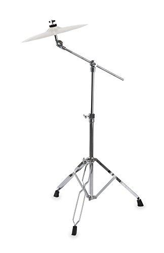 XDrum - Supporto per piatto Semi, altezza regolabile 65-103 cm, lunghezza del braccio 44 cm, con Memory-Lock System