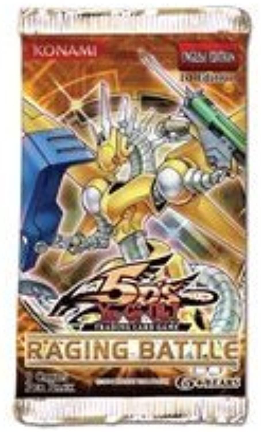 Yu-Gi-Oh  Booster Raging Battle 5Ds 5pack B003AX3BPU Primäre Qualität  | Auktion
