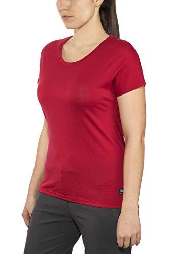 Bergans Oslo Wool - T-Shirt Manches Courtes Femme - Rouge Modèle L 2019 Tshirt Manches Courtes