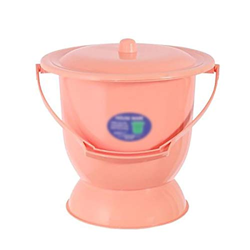 WRJ Spittoon Conserved Night Pot for Adults, The Lid with Portable Urine Bucket Thickened Is Potty Children Music Motif,3