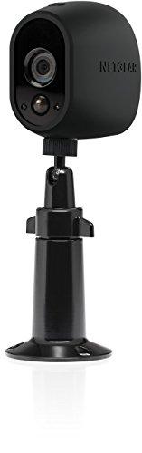 Arlo zertifiertes Zubehör | Verstellbare Innen/Außen Halterung (geeignet für Arlo HD, Pro und Pro 2 kabellose Überwachungskamera, nicht für Arlo Q) schwarz, VMA1000B