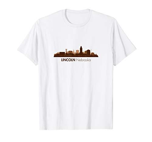 Skyline of Lincoln, Nebraska | Lincoln Nebraska Shirt