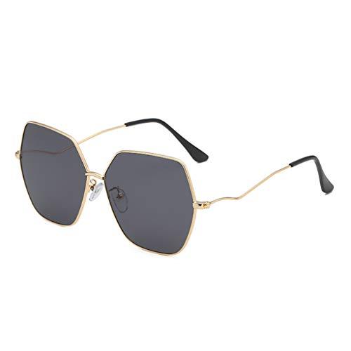 ReooLyMode - Gafas de sol irregulares, estilo retro E Talla única