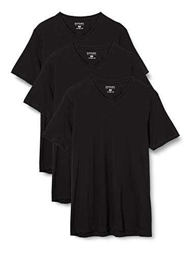 magliette uomo scollo v POMPEA T-Shirt U SCOL.V COT. Intimo