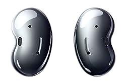Samsung Galaxy Buds Live, kabellose Bluetooth-Kopfhörer mit Noise Cancelling (ANC), komfortable Passform, ausdauernder Akku, Wireless Kopfhörer in schwarz