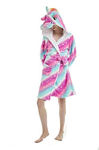 Unisex 100% algodón Egipcio Super Suave Terciopelo Rizo Albornoz Bata Albornoz Toalla de Terry Albornoz Housecoat Ropa salón Lleva con Bolsillos y cinturón casa Abrigo