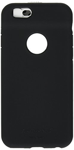 EyePatch iPhone 6/6s Case - Cleans Camera Lens and Covers Your Camera for Privacy (Black)
