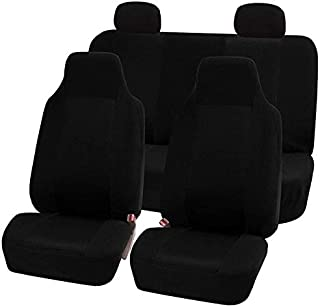 DKX 7pcs/set Car Seat Covers Kit Front/rear/Headrest Seat Cover Mesh Sponge Interior Accessories Full Cover Set For Car/Tr...