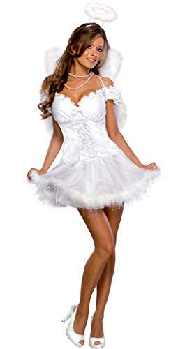 Rubie's, costume da donna, in versione angelo sexy mandato dal cielo, taglia M