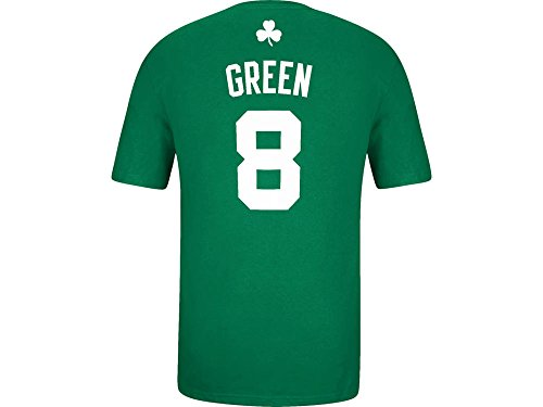 adidas Jeff Green Boston Celtics Green Jersey Name and Number T-Shirt XX-Large