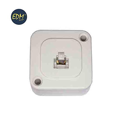 Edp 55002 Telefon-Oberfläche, einziehbar, Weiß