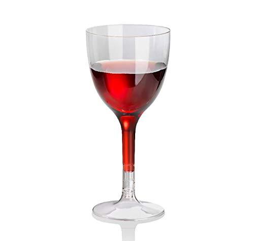 Naturesse 105 Verres à vin 10 cl en PLA 100% biodégradables