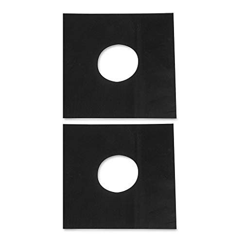zhibeisai 2pcs Fuel Hob Stovetop Cooker Protectors Sheet Reusable Non Stick Burner Oil Stain Protector