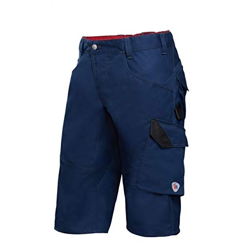 BP 1993-570-110-42n Shorts, Schlanke Silhouette mit elastischem Rückenteil, 250,00 g/m² Stoffmischung mit Stretch, Nachtblau, 42n